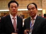 商务部副部长王超与亚太总裁协会全球执行主席郑雄伟亲切交流