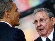 奥巴马访问古巴